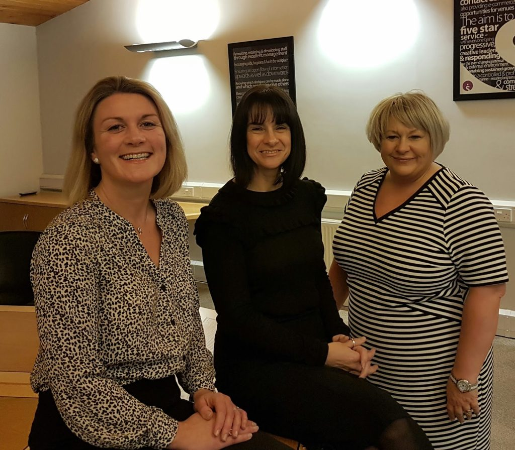 Susie Christie, Kimberley Graham, Tanya Beresford in board buyout Infotel Solutions Ltd