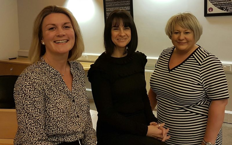 Susie Christie, Kimberley Graham, Tanya Beresford