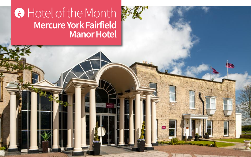 Hotel of the Month: Mercure York Fairfield Manor House