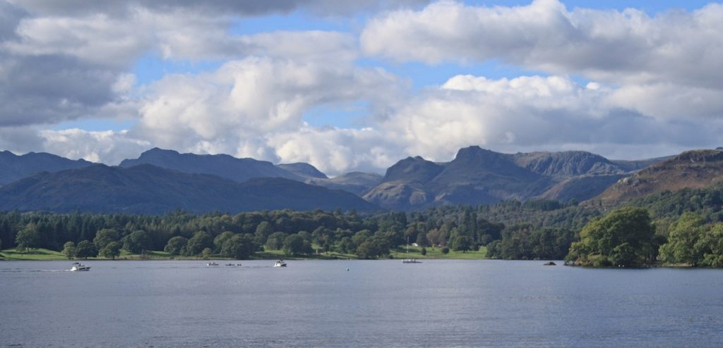 Windermere in the Lake District National Park