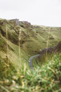 Winnats Pass in the Peak District National Park