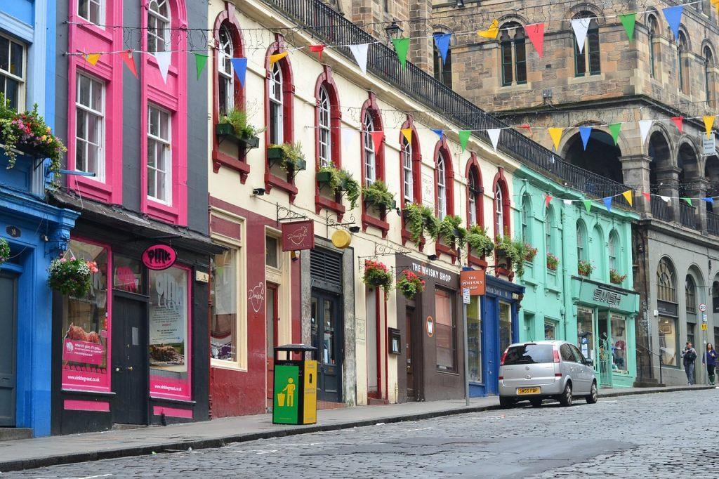 World Tourism Day - Edinburgh Boutique Shops