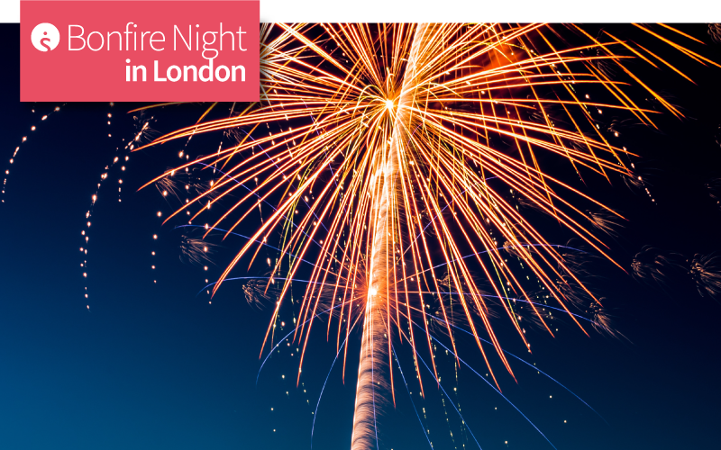 Bonfire Night in London