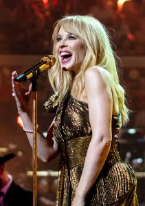 Kylie Minogue at The Queen's Birthday Party