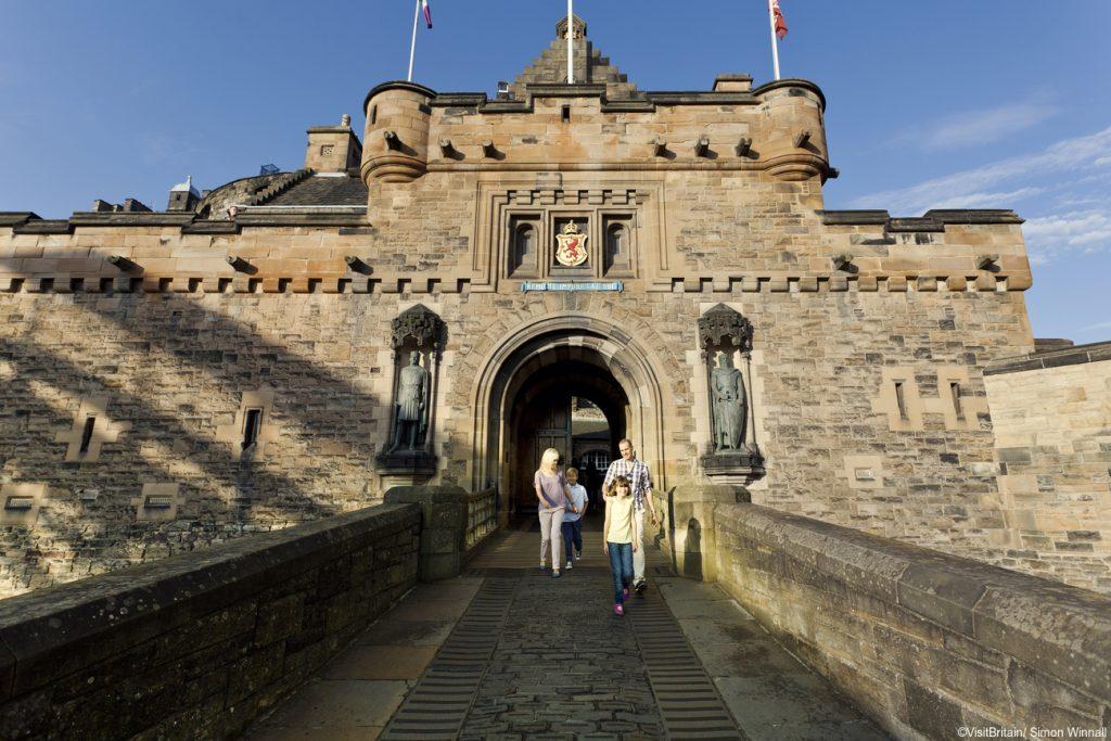 Visit Edinburgh Castle for St. Andrew's Day