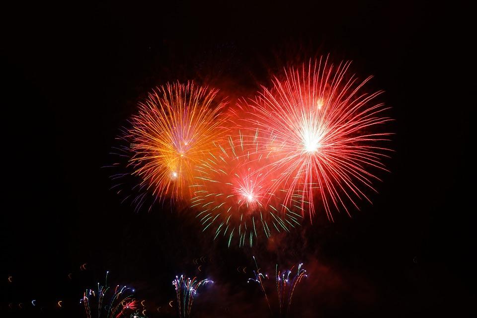 Wimbledon Fireworks