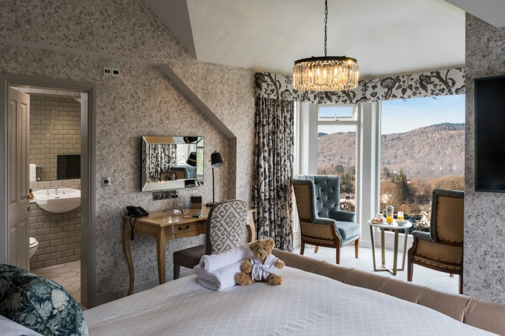 Hillthwaite House Hotel Bedroom