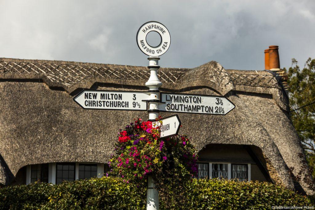 Hampshire Visit Britain Andrew Pickett