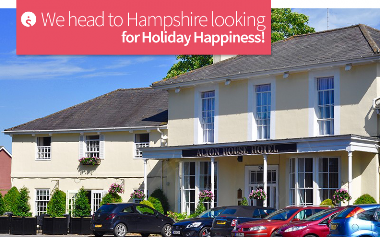 We head to Hampshire looking for Holiday Happiness!