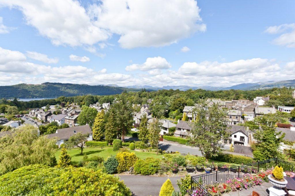 hillthwaite house hotel view