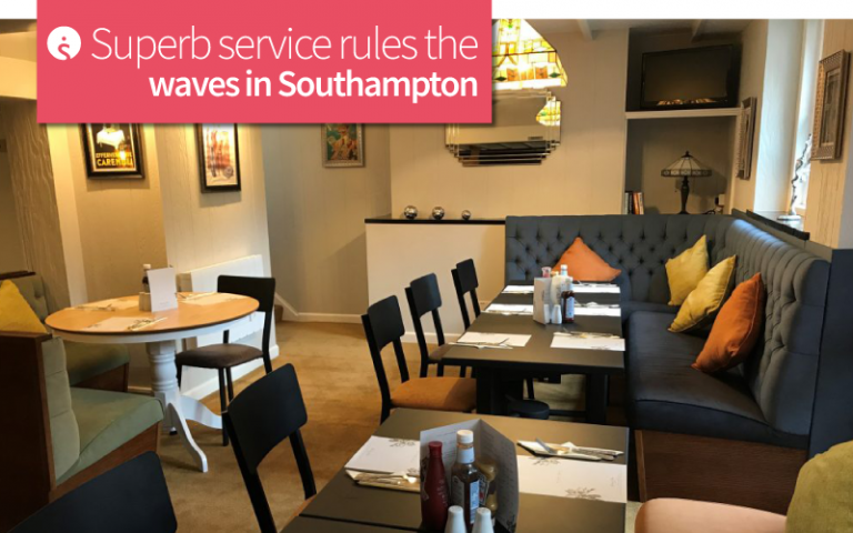Superb service rules the waves in Southampton