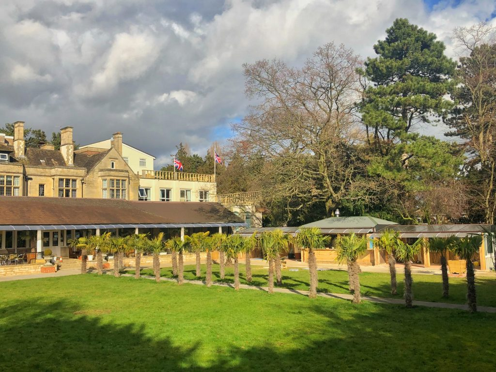 Westone Manor Hotel for a BBQ
