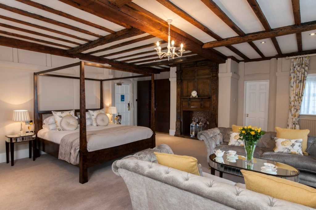 National Bed Month Laura Ashley, The Manor Hotel