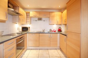 Well equipped kitchen at Coventry Priory Place