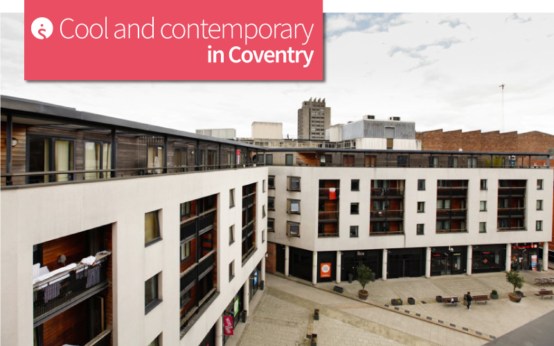 Cool and Contemporary in Coventry