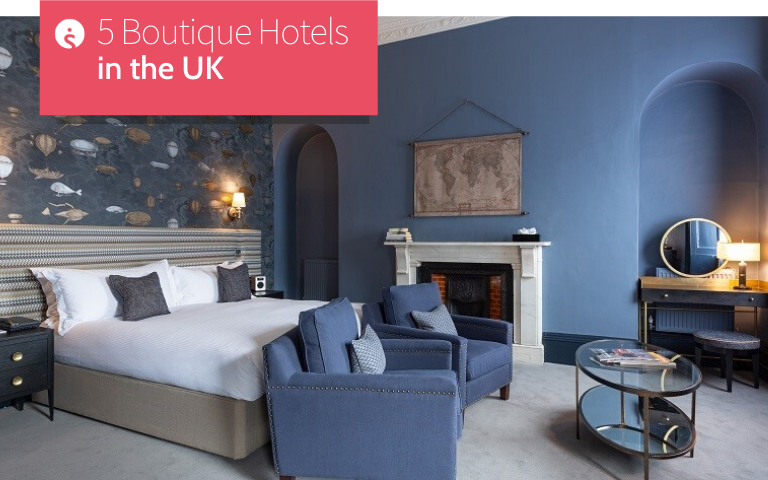 5 Boutique Hotels in the UK