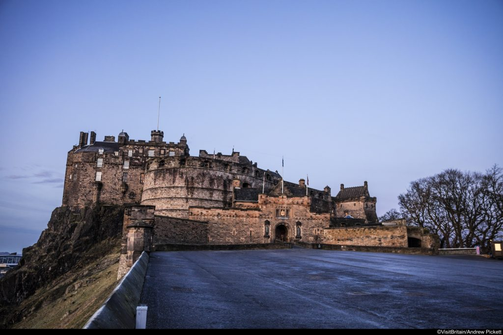 Escape to Scotland: Edinburgh Castle