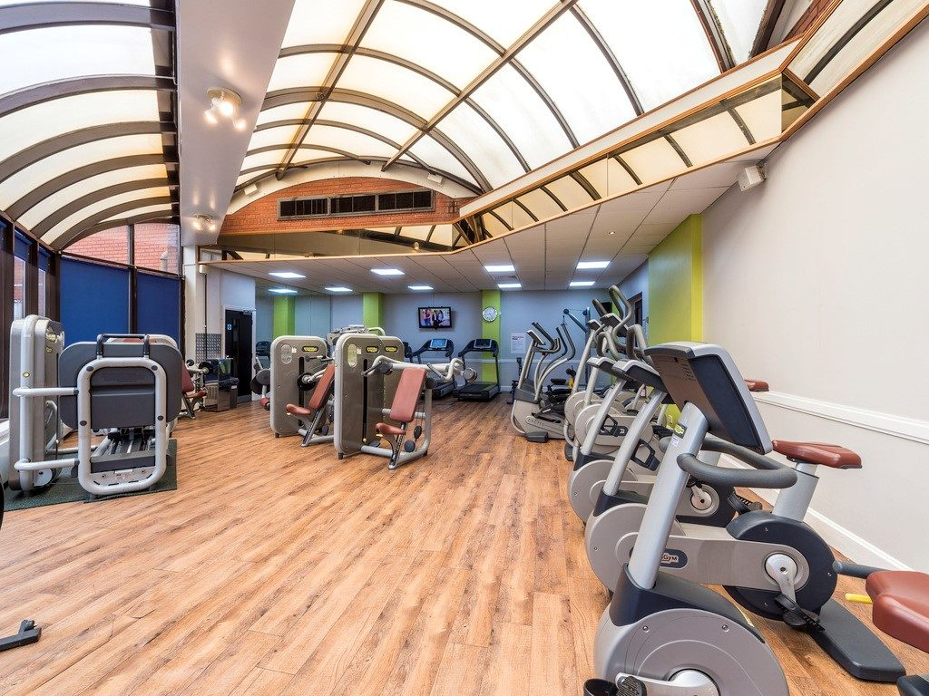 Gym at Mercure Telford Centre Hotel
