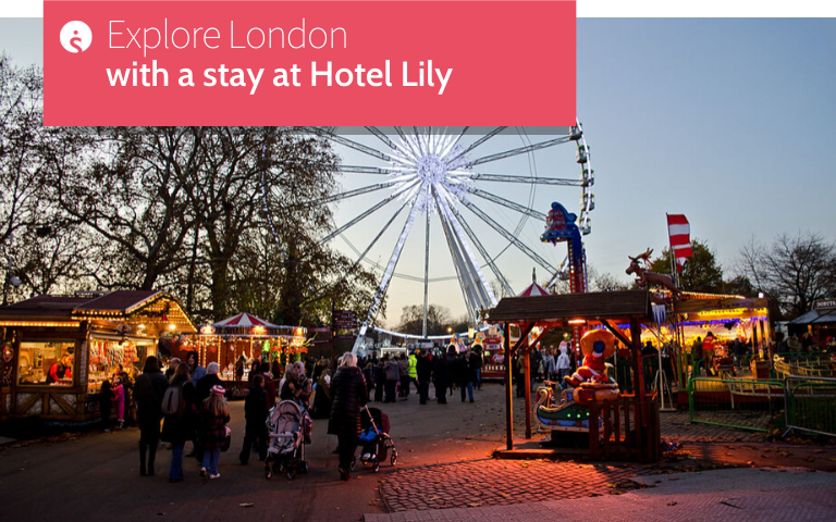 Explore London with a stay at Hotel Lily