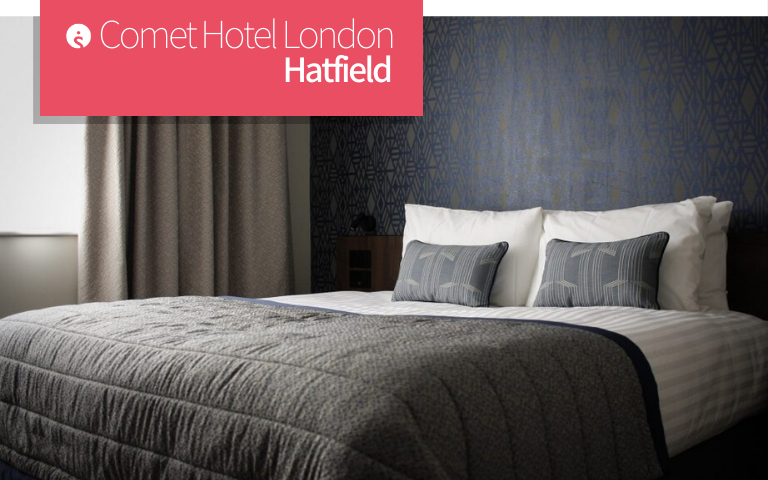 Comet Hotel London Hatfield Bed