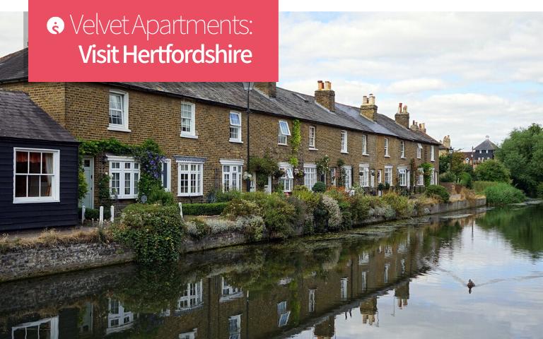 Velvet Apartments Hertfordshire location
