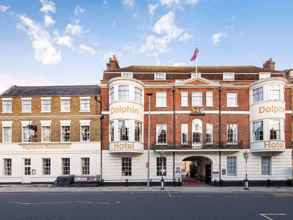 Vine Hotels Mercure Southampton Centre Dolphin Hotel Exterior
