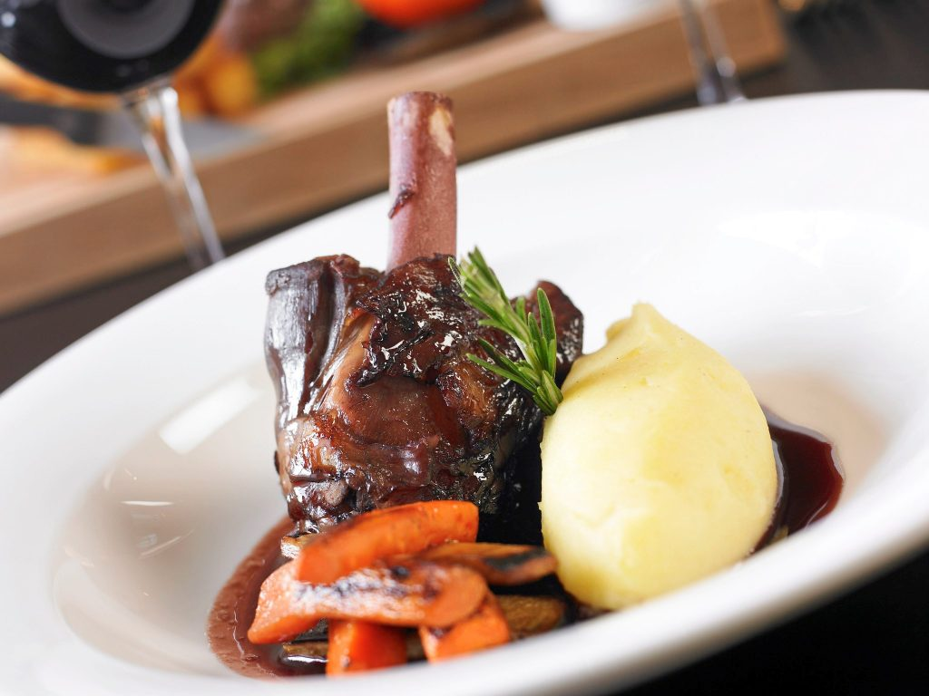 Vine Hotels Mercure Southampton Centre Dolphin Hotel food